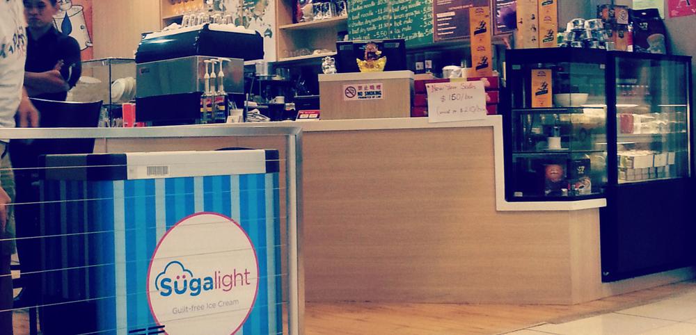 Ice Cream Maker Sugalight Singapore- Healthy Dessert Choices